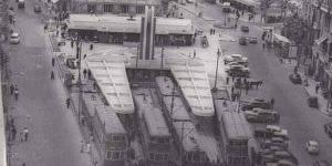 محطة الرمل بالإسكندريه عام 1955