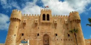 قلعة قايتباي تلك اشهر القلاع بمصر وعلامة من علامات مدينة  الإسكندرية