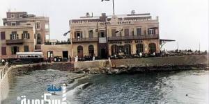 من الصور النادرة لمطعم و فندق زافير اليوناني عام 1940 م