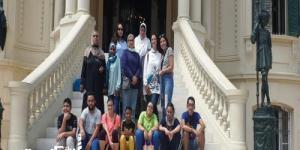 """""""آثار الإسكندرية"""" تستضيف أطفالًا من ذوي الهمم في جولة سياحية"""