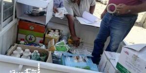 ضبط مبيدات ومخصبات زراعية فاسدة داخل محال تجارية في الإسكندرية