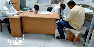 """مجانا....""""صحة الإسكندرية"""" علاج 994 مريضا من سكان حى الجمرك"""