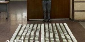مكافحة المخدرات ....إحباط ترويج ١٤٠ طربة حشيش بالعامرية