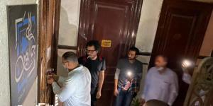 حي وسط....إغلاق محل مخالف في حملة لتطبيق الإجراءات الاحترازية