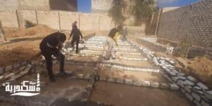 حي العامرية ثان....حملة لإزالة مقابر دون ترخيص