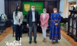 النائبة سوسن حسني حافظ  : قيام جامعة الإسكندرية بتصنيع طلمبات مصرية ١٠٠٪ يعتبر خطوة جديدة لربط التنمية الشاملة بالعملية التعليمية والبحثية