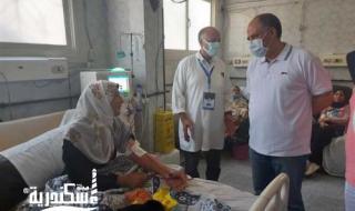 """جولات لوكيل صحة الإسكندرية لمستشفى """"ابوقير العام"""" و""""صدر المعمورة"""" لاستقبال «طوارئ العيد»"""