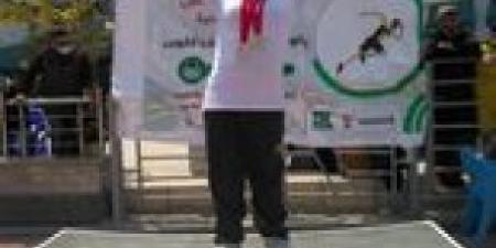 """""""ملك مجدي"""" تتوج بميداليتين ذهب في بطوله كأس مصر لذوي الاعاقه الذهنيه"""