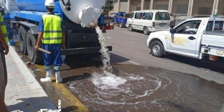 نموذج محاكاة لمياه الأمطار استعدادا لموسم الشتاء فى الإسكندرية