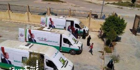 «صحة الإسكندرية» تدفع ب 9 عيادات متنقلة بقافلة مجانية لمدينة برج العرب