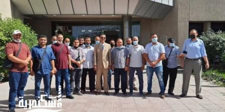 بدء تدريب السائقين على الرخصة الدولية بمعهد الموانئ فى الإسكندرية