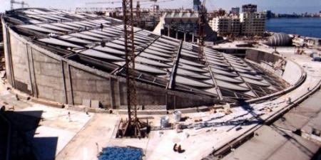 تكلفة بناءها 250 مليون دولار ....ذكرى أفتتاح مكتبة الإسكندرية  التاسعة عشر