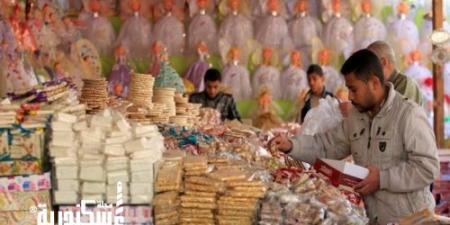 تراجع 25% بمبيعات حلوى المولد في الإسكندرية هذا العام