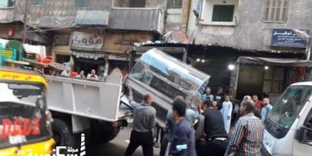 أحياء الإسكندرية...حملات مكبرة لتطبيق مواعيد غلق المحلات وإزالة الإشغالات