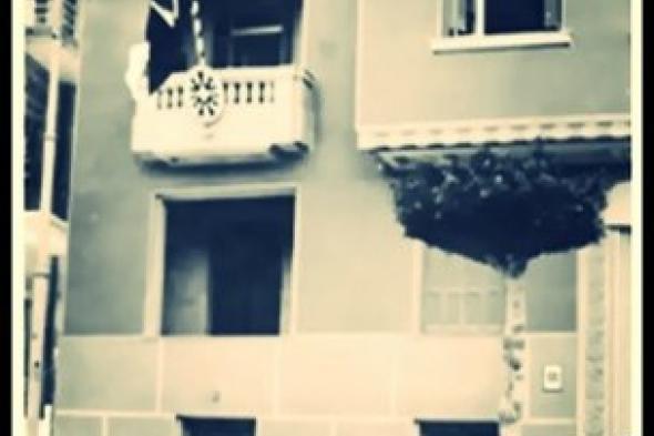 القنصلية السويسرية بالأسكندرية في شارع السلطان حسين سنة ١٩٣٥