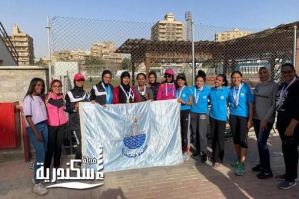 """""""جامعة الإسكندرية"""" تفوز بالمركز الأول فى بطولة الشهيد الرفاعى ال (٤٨) لألعاب القوى"""