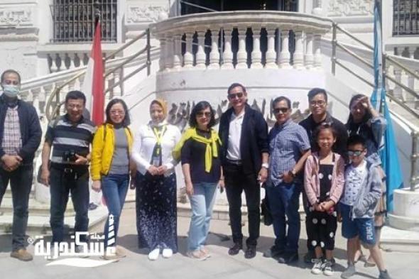 زيارة سفير دولة فيتنام لمتحف الإسكندرية القومي