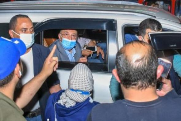جولة مفاجئة لمحافظ الإسكندرية  بنطاق حى العجمي