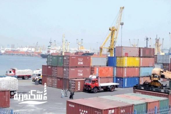 ميناء الإسكندرية... تداول 113 ألف طن بضائع إستراتيجية