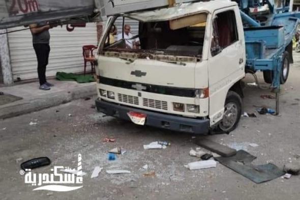 مصرع عريس وابن عمته في انهيار رافعة أثاث بشارع جميلة بوحريد