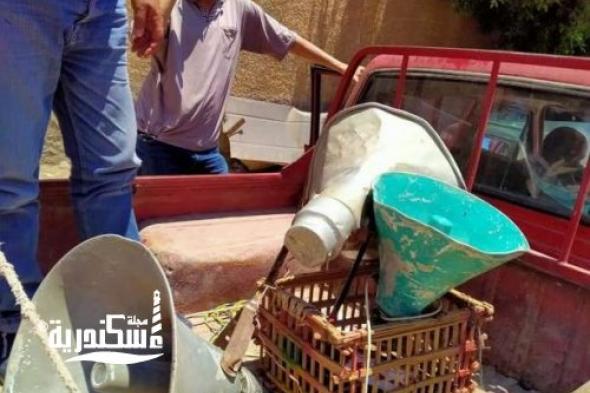 حي غرب ...حملة مكبرة لمصادرة مكبرات الصوت من شوارع الحي