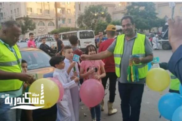 شركة نهضة مصر ....معطرات جو بشوارع الإسكندرية احتفالا بعيد الأضحى