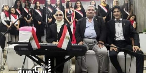 الفرقة  الذهبية للموسيقى العربية يتألقون فى حفل نادى الأطباء