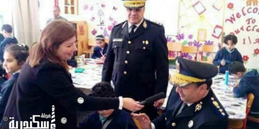 وزارة الداخلية ترتقي بمستوي الوعي لدي أطفال المدارس