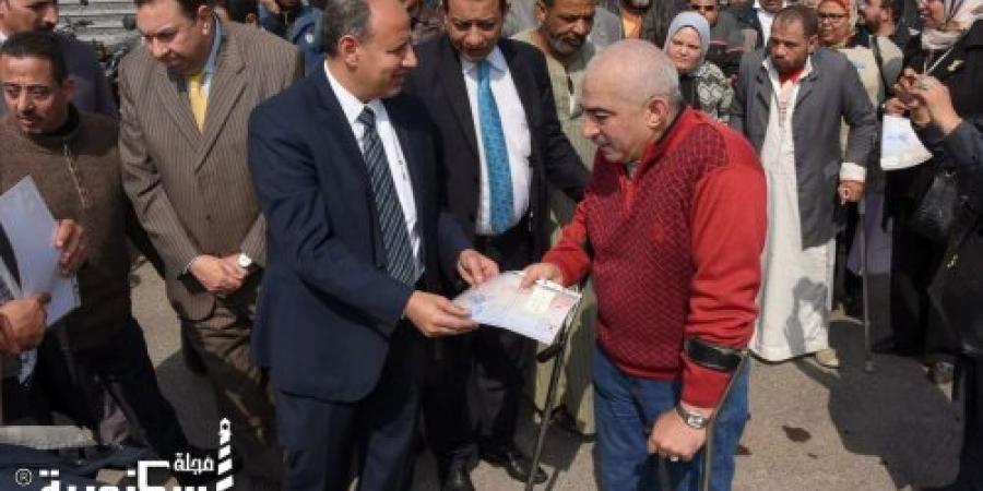 """سلطان : """"توزيع ٢٥ موتوسيكل على ذوى الإحتياجات الخاصة بالمحافظة كدفعة أولي"""""""