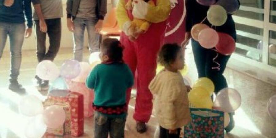 """شباب """"ليو غرب"""" يقيم إحتفالية لأطفال مرضى السرطان ضمن فعاليات مبادرة """"معاً ضد السرطان """""""