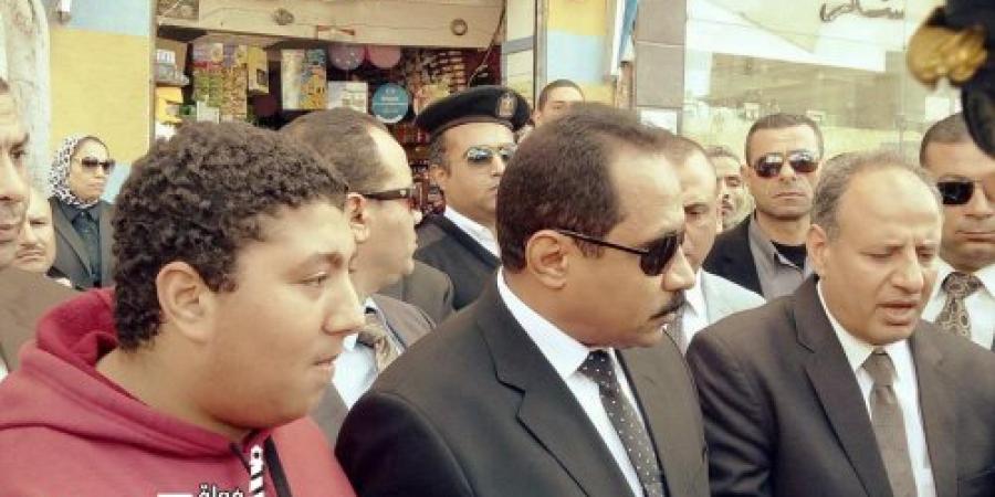 جنازة عسكرية لشهيدى الحادث الإرهابى الذى إستهدف سيارة الحراسة الخاصة بمدير أمن الإسكندرية