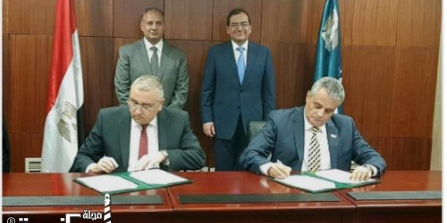 توقيع بروتوكول التعاون بين كلية الهندسة وشركة انبى للبترول