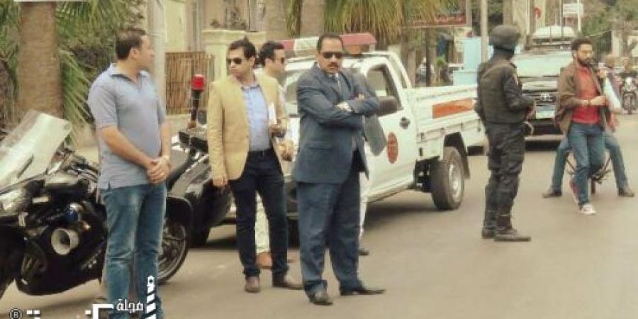 اللواء النمر يتفقد المكان المخصص لقسم الإنقاذ النهرى التابع لإدارة الحماية المدنية بالإسكندرية