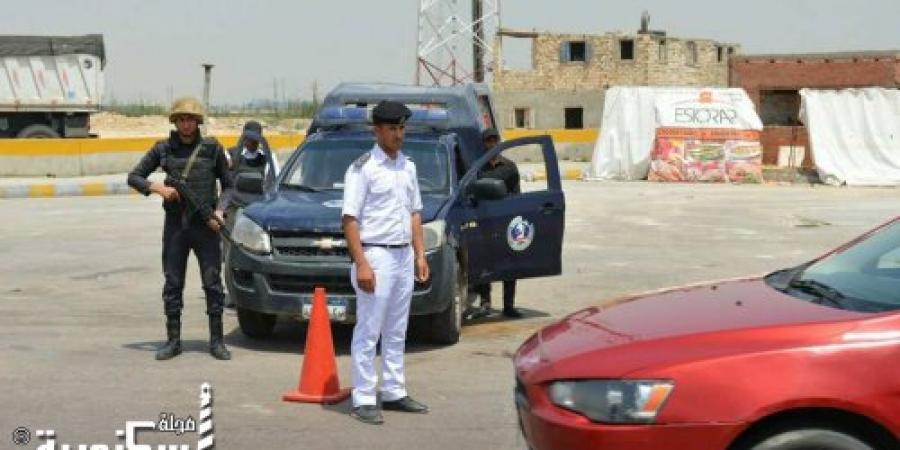 اللواء النمر يوجه حملة مرورية علي مستوي الإسكندرية مع التركيز علي الأماكن الأكثر كثافة مرورية
