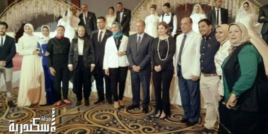 نادى روتاراكت الإسكندرية سان ستيفانو يقيم حفل الزفاف الجماعى السنوى السابع للأيتام فى حضور محافظ الإسكندرية