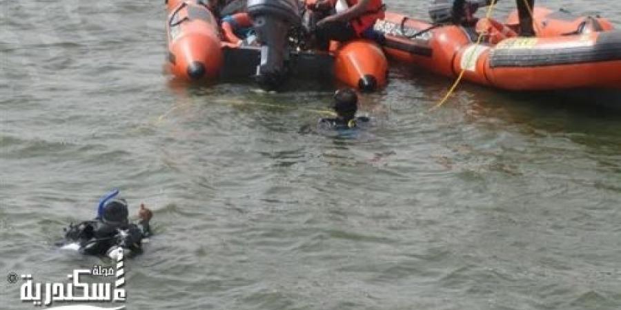 قوات الإنقاذ النهري بالإسكندرية تتمكن من إنتشال جثة غريق بشاطئ البحر فى الإبراهيمية