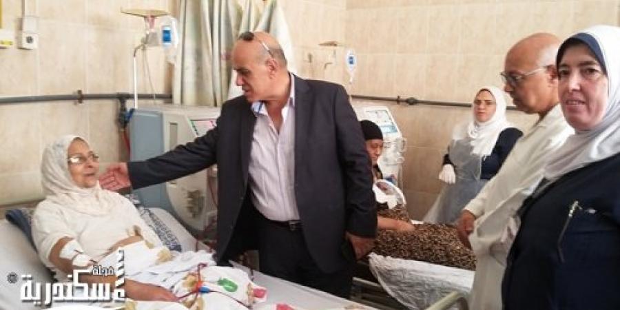 """""""صحة الاسكندرية"""" زيارة مفاجئة لمستشفى رأس التين العام خلال الاحتفالات بذكرى 30 يونية"""