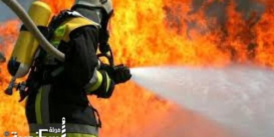 """""""الحماية المدنية"""" بالإسكندرية تتمكن من السيطرة على حريق نشب فى شقة بعقار فى منطقة المعمورة الشاطئ"""