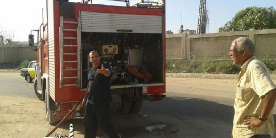 السيطرة علي حريق نشب بمخلفات بشارع 218 الجديد في حى غرب الإسكندرية