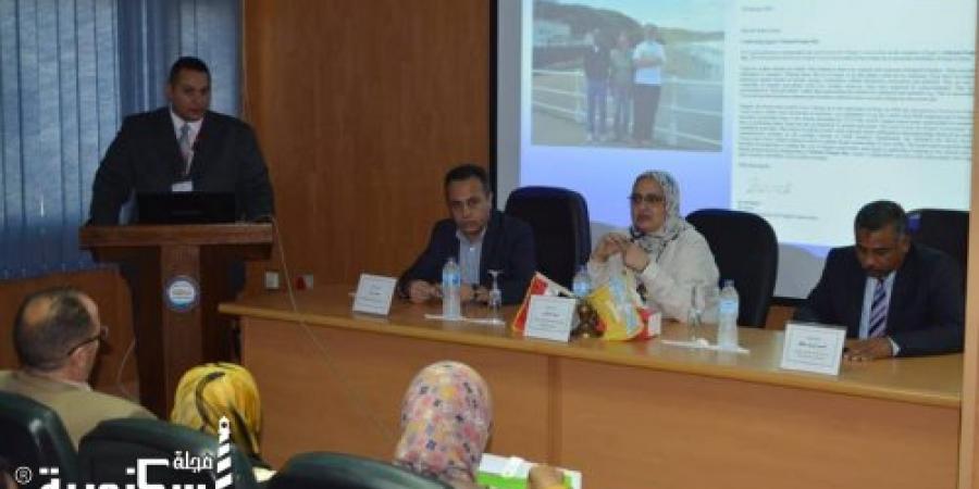 """نقاش حول """" التنوع البيولوجي """" فى دورة تدريبية بالأبحاث العلمية ببرج العرب"""