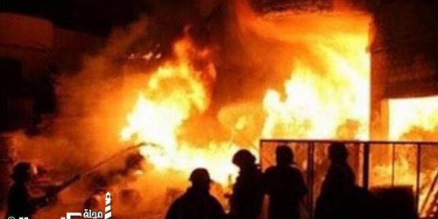 الحماية المدنية بالإسكندرية تسيطر على حريق شب في مصنع بالمنطقة الصناعية الثالثة