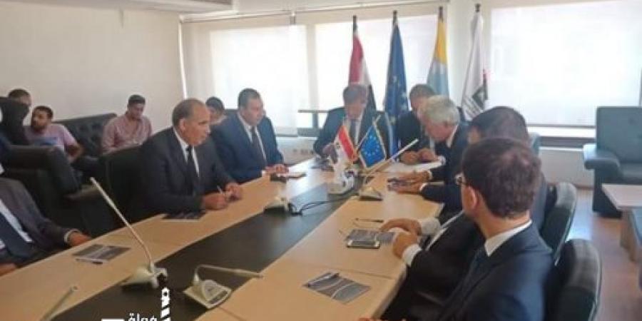 الغرفة التجارية تجتمع بسفير الاتحاد الأوروبي