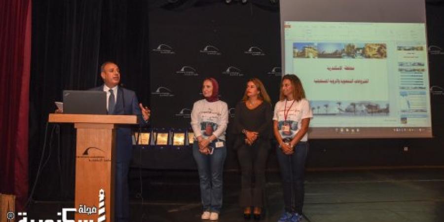 التغطية الإعلامية لاحتفالية العيد القومي للإسكندرية