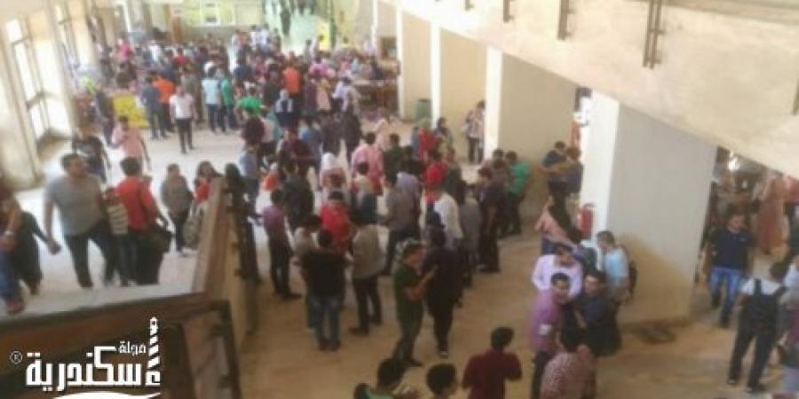 وفاة موظف داخل المدينة الجامعية في سابا باشا بالإسكندرية