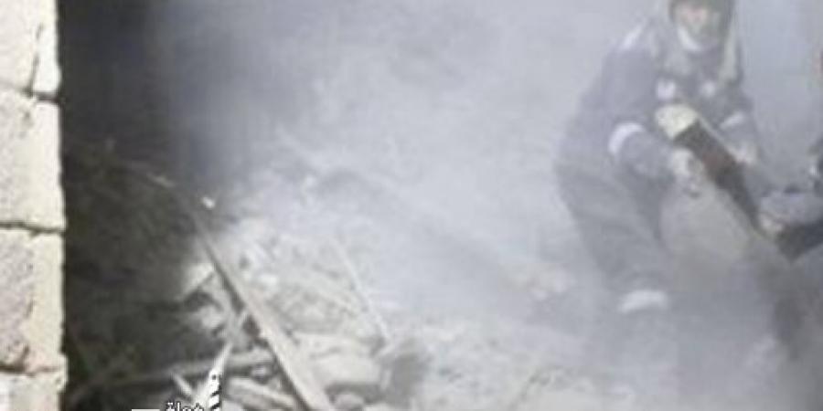 سقوط جزء من عقار بشارع النيل في الإسكندرية أسفر عن مصابين