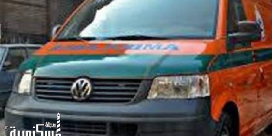 حالات وفاة وإصابات في تصادم بين سيارة ودراجة نارية علي الطريق الصحراوي منطقة الكيلو ٥٢ تجاه إسكندرية