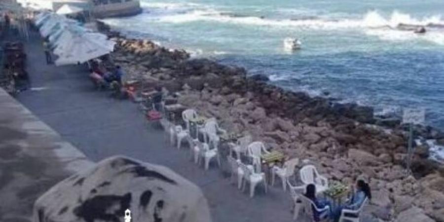 ظهور جثة غريق بشاطئ جليم فى الإسكندرية