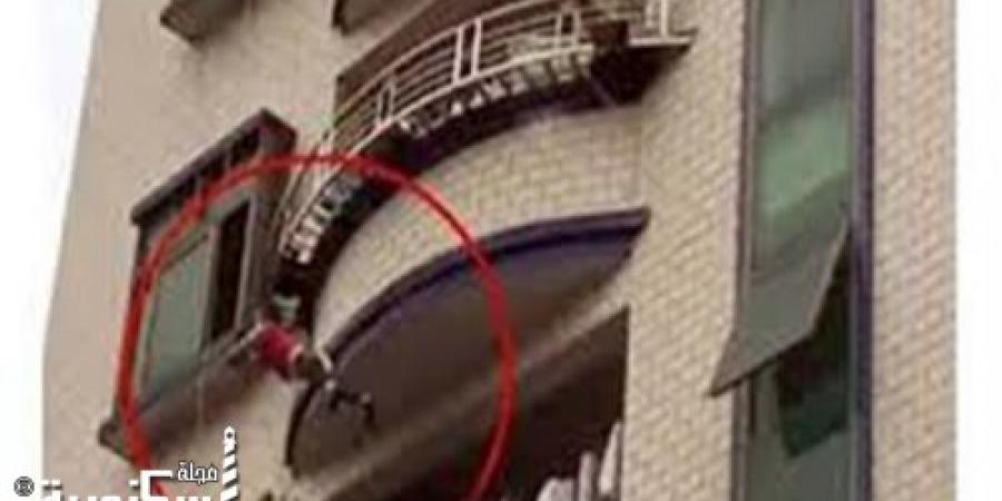 مصرع طفل سقط من شرفة منزله بعد أصابة والدته بنوبة صرع