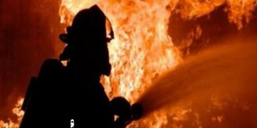الحماية المدنية بالإسكندرية تسيطر على حريق شب في قطعة أرض بغيط العنب