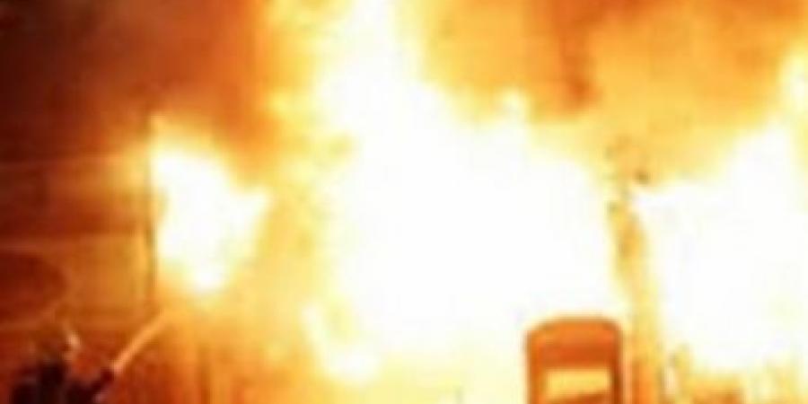 الحماية المدنية بالإسكندرية تسيطر على حريق نشب في محل بمنطقة كفر عبده